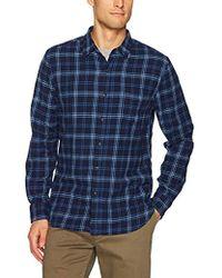 Lucky Brand - Ballona Shirt In Blue Multi - Lyst