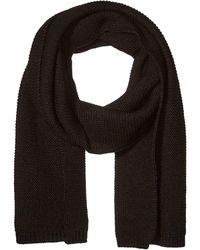 Steve Madden Knit Scarf Schal für kaltes Wetter - Schwarz