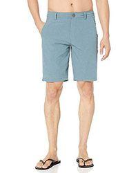 Rip Curl Newport Boardwalk Hybrid Shorts - Blue