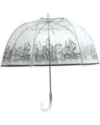 London Fog Bubble Stick Umbrella - Multicolor