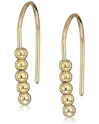 9bcbc90d3 French Connection - S Small Dot Drop Earrings - Lyst