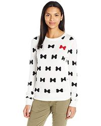French Connection - All Over Bows Sweater - Lyst