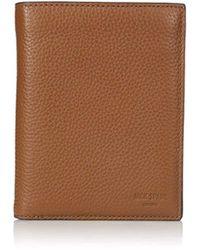 Jack Spade Pebble Leather Travel Wallet - Brown