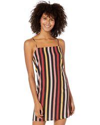 Volcom Lotsa Likes Straight Fit Shift Dress - Multicolor