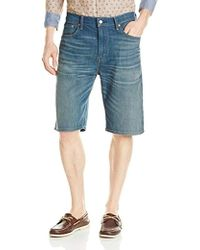 73435770 Levi's 501 Ct Shorts Scribble in Blue for Men - Lyst