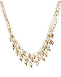 Lucky Brand Modern Movement Layer Necklace - Metallic