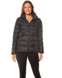 Vince Camuto Packable Down Jacket - Gray