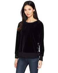 518ba8e780c Lyst - n PHILANTHROPY N Philanthropy Walker One-shoulder Velour ...