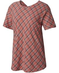 Columbia Times Two Short Sleeve Tee - Pink