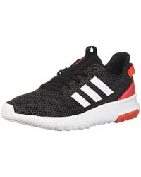 0c65f7678fdc4 Lyst - adidas Cf Qt Racer Mid W Running Shoe in Gray for Men