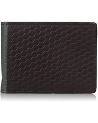 Buxton - Bellamy Rfid Blocking Leather Front Pocket Slim Flip Wallet With Money Clip - Lyst