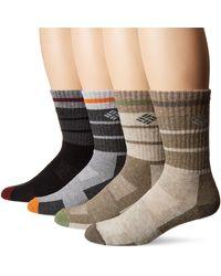 Columbia 4 Pack Wool Crew Socks - Multicolor