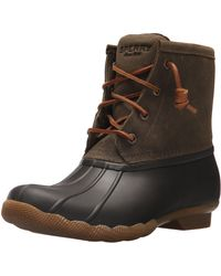 Sperry Top-Sider Womens Saltwater Boots - Brown