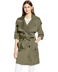 BCBGeneration - Double Breasted Trench - Lyst