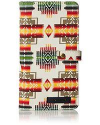 Pendleton Canopy Canvas Passport Case - Multicolor