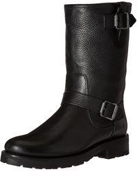 Frye Natalie Mid Engineer Lug Winter Boot - Black