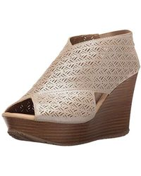 Kenneth Cole Reaction - Sole Safe 2 Wedge Sandal - Lyst