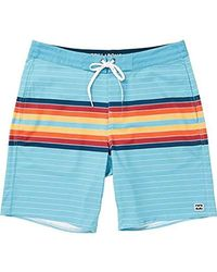 f7e94cc2c9 Lyst - Billabong Sundays Lo Tides Red Mens Boardshorts in Blue for Men