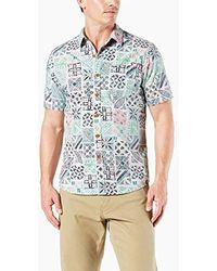 8aeda7e809a Dockers - Short Sleeve Resort Shirt - Lyst · Dockers. Short Sleeve Resort  Shirt.  28. Amazon Prime · Dockers - Long Sleeve Button Front Shirts ...