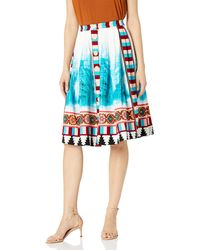 Plenty by Tracy Reese Placement Skirt - Blue