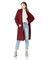 Michael Stars - Cozy Knits Shawl Collar Sweater Coat - Lyst