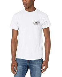 Quiksilver Daily Wax Tee - White