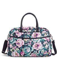 Vera Bradley Lay Flat Weekender Travel Bag - Multicolor