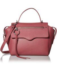 Rebecca Minkoff Gabby Leather Satchel - Multicolor