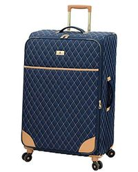 """London Fog Queensbury 24"""" Expandable Spinner - Blue"""