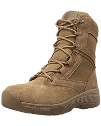 "Timberland Valor Duty 8"" Soft Toe Military And Tactical Boot - Brown"
