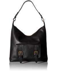 Fossil Cleo Hobo Handbag - Black