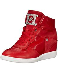 Michael Kors - Michael Nikko High-top Black Suprema Nappa Sport Sneaker - Lyst