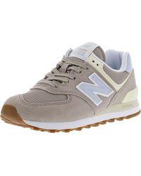 New Balance 574 V2 Summer Sneaker - White