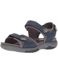 Rockport - Franklin Three Strap Sport Sandal - Lyst