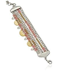 Lucky Brand - Lucky Layer Two Tone Bracelet - Lyst