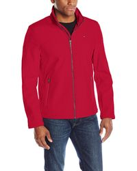 Big /& Tall and Regular Sizes Big Mens Soft Shell Jacket by TR Gold