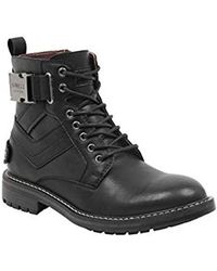 Guess - Rebel Combat Boot, - Lyst