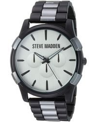 Steve Madden Fashion Watch Smw246tgu - Multicolor