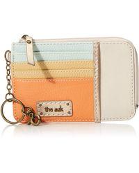 The Sak Iris Leather Card Wallet - Multicolor