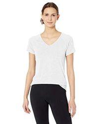 Amazon Essentials - Studio V-neck T-shirt - Lyst