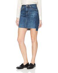 AG Jeans - Erin Denim Pencil Skirt - Lyst