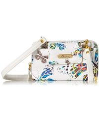 Buxton Flutter About Rfid Crossbody - White