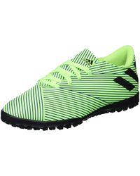 adidas Nemeziz 19.4 Turf Soccer Shoe - Vert