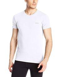 DIESEL - Essentials Randal Crew T-shirt - Lyst