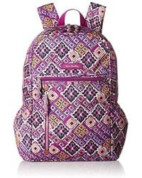 076b2c1074b4 Lyst - Vera Bradley Large Lighten Up Backpack