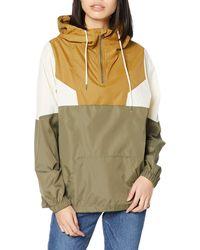 Volcom Wind Stoned Lightweight Quarter Zip Windbreaker Jacket - Multicolor