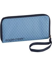 Eagle Creek Rfid Wristlet Wallet Passport Holder - Blue