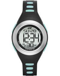Skechers Tennyson Silicone Strap Watch 33mm - Black
