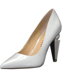 Katy Perry The Memphis Pump Pearl Gray 9.5 M M Us