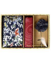 Original Penguin Sommers 3-piece Floral Tie - Blue